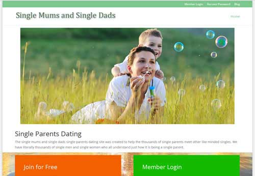 Single dad dating website