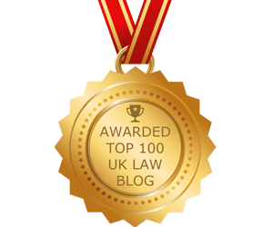 Gold Gong for Legal Blog